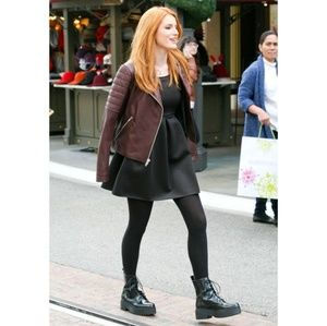 JEFFREY CAMPBELL Finnick Leather Ankle Boot